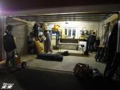 ガレージはきれいに清掃します