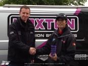 イギリスのサスペンションメーカーMAXTONのレーシングサポート POJISYONNNOKAKUNIN