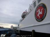 先発組は、イギリスからフェリーでマン島へ