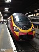 ロンドンまで乗車した列車