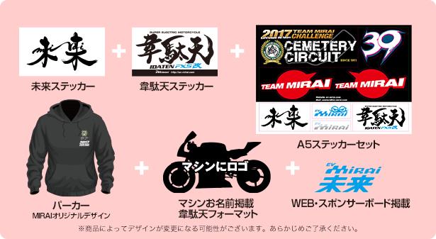 メインスポンサーコース ¥100,000