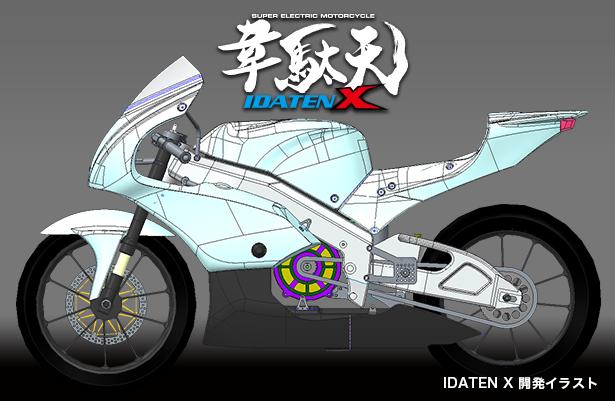 韋駄天 X IDATEN-X